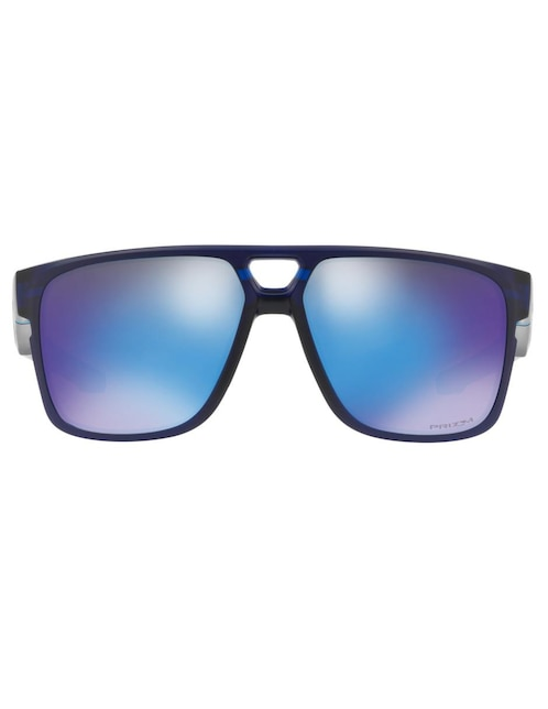 5d3120b078 Lente solar para caballero Oakley azul marino