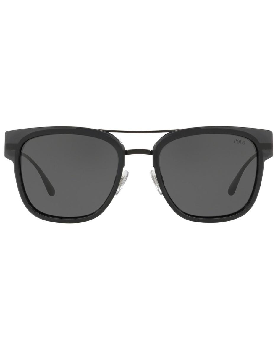 ac81cc701d Lente solar para caballero Polo Ralph Lauren negro